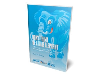 Don't think of a blue elephant